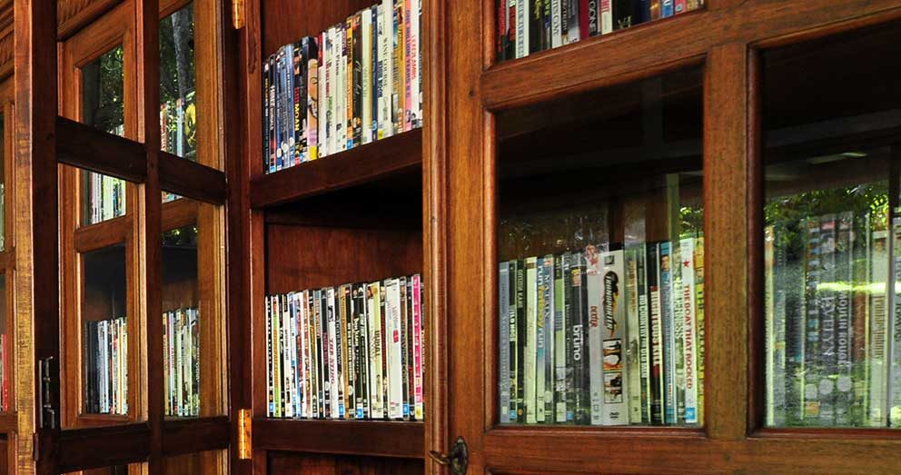 The Guest Games Room has a huge selection of DVDs and Blu-ray you can take back to your bungalow to enjoy