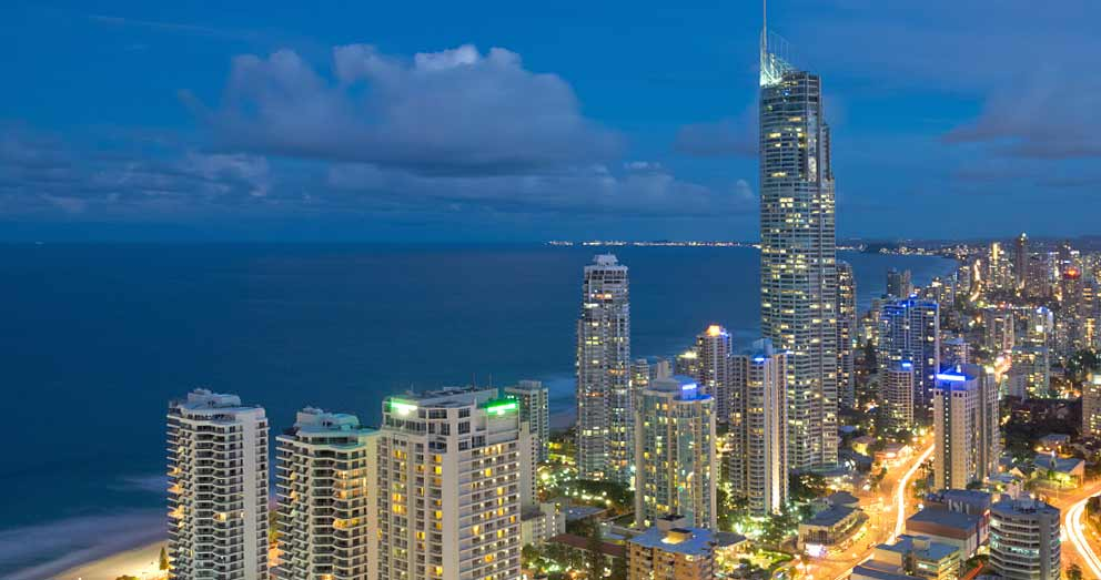 "The Gold Coast in Queensland is often called ""Australia's playground"""
